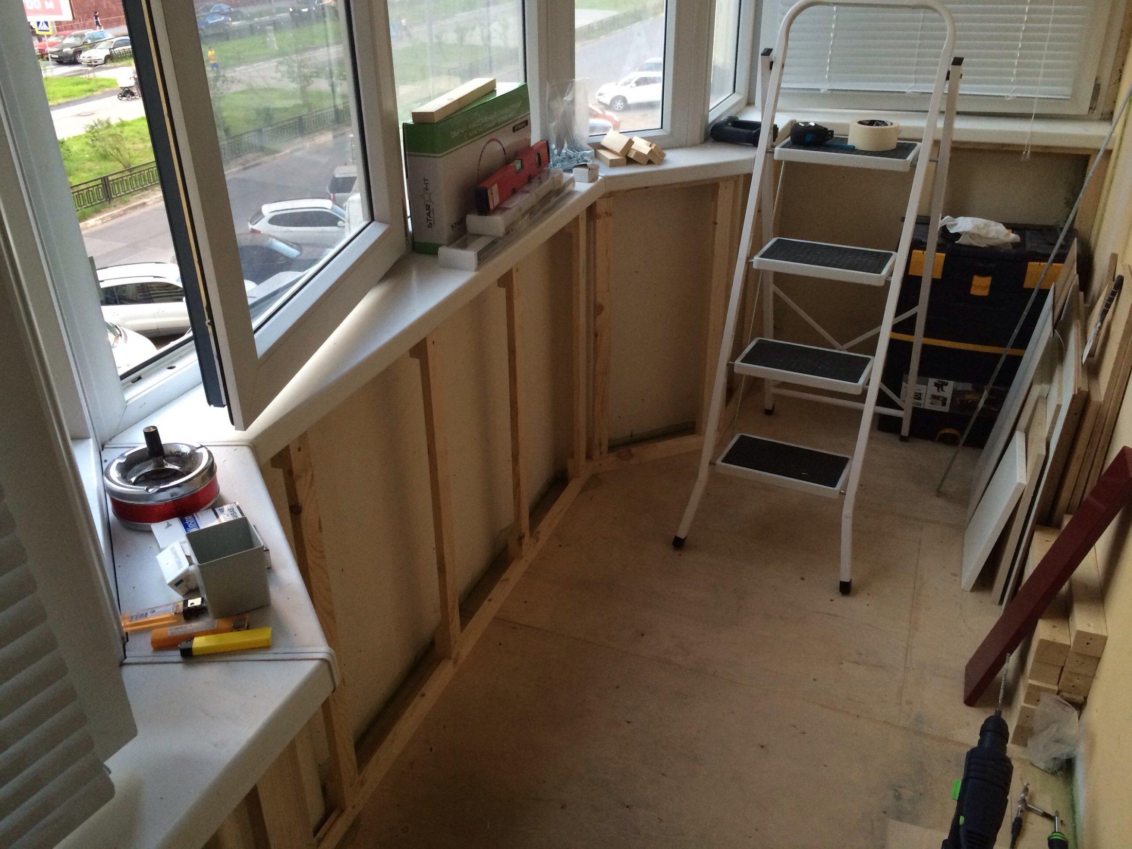 Как сделать ремонт на балконе сделай сам 401